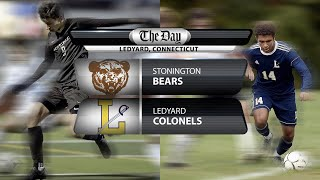 Full replay: Stonington at Ledyard boys' soccer