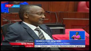 KTN Prime: IEBC Chair interviews continue at Nairobi County hall
