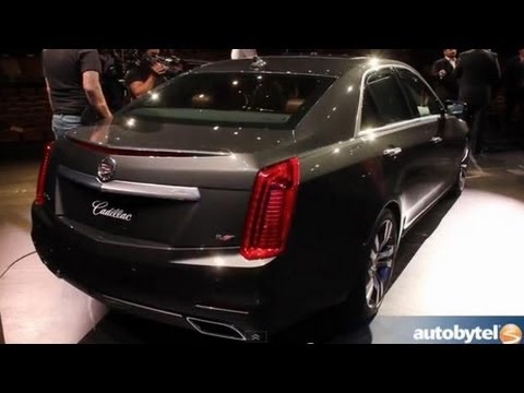2014 Cadillac CTS At The 2013 New York Auto Show