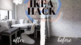 Ikea Hack | DIY Cushions | Small Dining Room