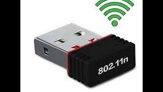 كيفية استخدامUSB Wifi 802 11