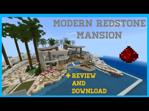 Download Redstone Modern Beach House Redstone Modern Mansion Mine