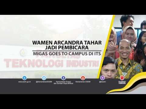 Wamen ESDM Jadi Pembicara Migas Goes to Campus di ITS