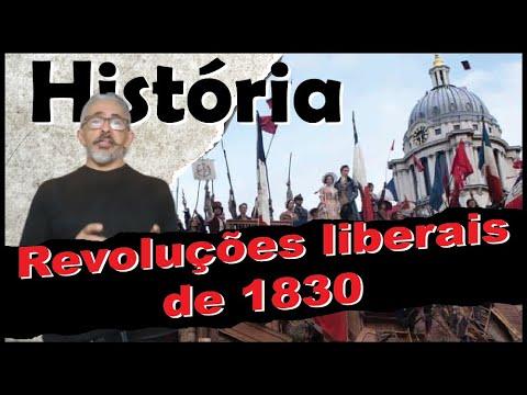 Revoluções liberais de 1830 (Liberal Revolutions of 1830)