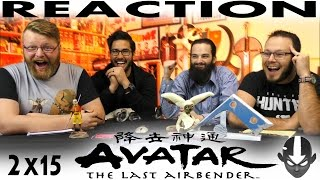 "Avatar: The Last Airbender 2x15 REACTION!! ""Tales Of Ba Sing Se"""