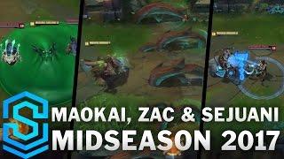 Maokai, Zac & Sejuani   Tank Roster Update - Midseason 2017