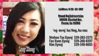 Lucy Xiong lub ntees nyob Fresno California