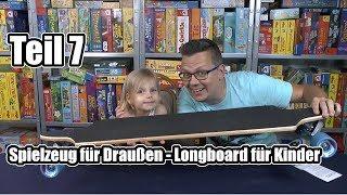 Top Spielzeug für Draußen - Teil 7 - Longboard für Anfänger (Hudora) ... perfekt für Alina!