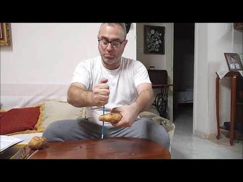 IMPOSSIBLE TRICK! HOW TO CUT A POTATO WITH A STRAW!!