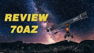 Celestron Astromaster 70AZ Telescope Review 2018