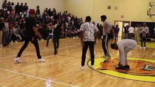 Download Video Ayo & Teo Pep Rally Performance @freakyday_ @kingkumo_ HiiiKey MP3 3GP MP4