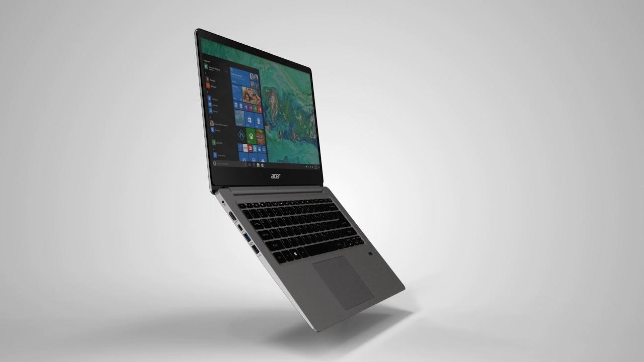 Ноутбук Acer Swift 1 SF114-32 Aqua Green (NX.GZGEU.010) video preview