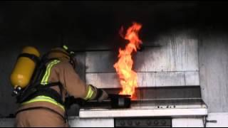 Feuer in der Küche