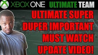 Madden 15 - MUST WATCH UPDATE! STAY IN THE LOOP!