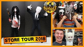 Spirit Halloween Store Tour 2018! FUNhouse Family