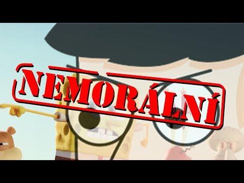 Je SpongeBobův spin-off NEMORÁLNÍ?