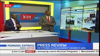 Three dead, roads and bridges destroyed as heavy rains wreck havoc countrywide, Press Review