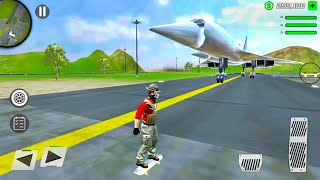 Police Car Driving and Skateboarding - Grand Action Simulator #5 - Android Gameplay