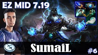 SumaiL - Zeus EZ MID | 7.19 Update Patch | Dota 2 Pro MMR Gameplay #6