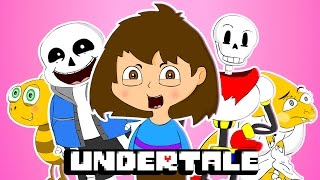 ♪ UNDERTALE THE MUSICAL - Animation Song Parody