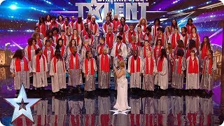 Is this the MOST amount of people we've ever had on stage?! | Britain's Got Talent - Video Youtube