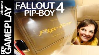 Fallout 4 Pip-Boy edition unboxing en español