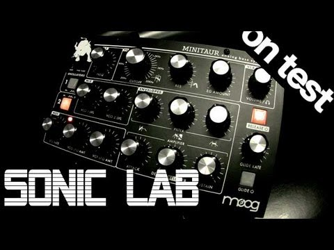 Sonic LAB Moog Minitaur Bass Synth Review