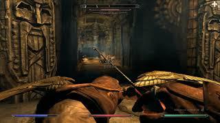 Alftand, Blackreach, and Mzark (Skyrim, Requiem 3.1) Ranger Gameplay