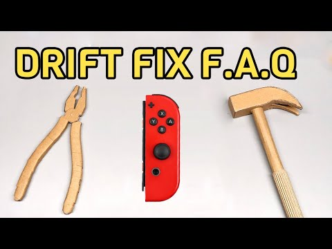 Joycon Drift Fix F.A.Q