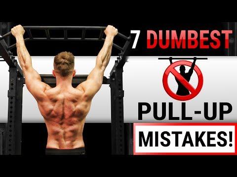 Push-up z ławki pracujących mięśni