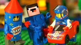 Лего Нубик Майнкрафт и МИНИФИГУРКИ Мультики Все Серии Подряд Мультфильмы для Детей СБОРНИК Игрушки