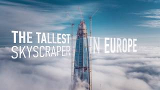 The tallest building in Europe. Lakhta Center // Самое высокое здание Европы.