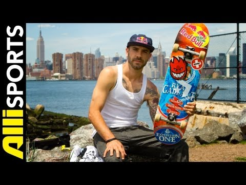 Zered Bassett on his Boston Inspired Expedition Skateboard, Alli Sports Skate Setup