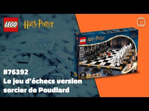 Vidéo LEGO Harry Potter 76392 : Le jeu d'échecs version sorcier de Poudlard