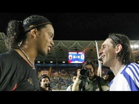 Amigos Ronaldinho vs Amigos Messi ● Full Match (1st half)