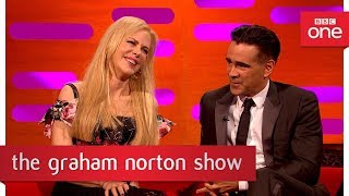 Nicole Kidman Ruffled By Alexander Skarsgard Kiss Pic!   The Graham Norton Show: 2017   BBC One