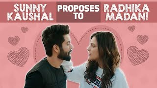 Sunny Kaushal comments on Vicky Kaushal & Katrina Kaif !