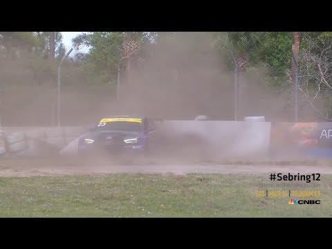 Michelin Pilot Challenge 2019. Sebring International Raceway. Spins