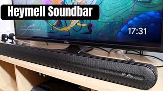 Heymell Soundbar Built in Subwoofer - Test & Review