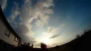 preview picture of video '1st october 2014 Timelapse : Geoengineering over Belgium    Skywatch BENELUX'