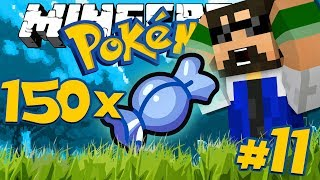 Minecraft: POKEMON - 150x RARE CANDIES?! [11]