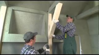 Подготовка ровной поверхности под покраску и поклейку обоев с помощью ДСП QuickDeck