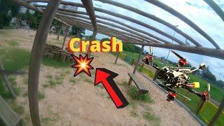 Drone Racer Tiny Whoop - Larva X HD Passeio no Parque - Crash 2:22 ????