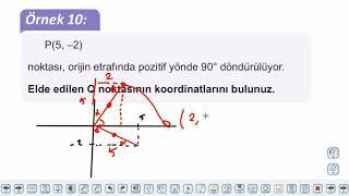 Eğitim Vadisi AYT Geometri 9.Föy Dönüşümler Geometrisi Konu Anlatım Videoları