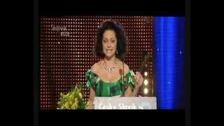 Český slavík 2012 - Lucie Bílá - Absolutní vítěz