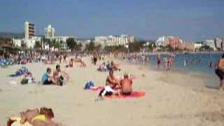 preview picture of video 'Holiday in Magaluf, Mallorca'