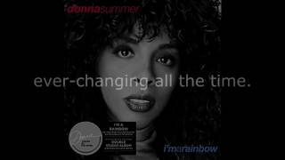 "Donna Summer - I'm a Rainbow LYRICS SHM ""I'm a Rainbow"" 1981"