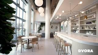 Main Lobby & Café | DVORA 175 Second