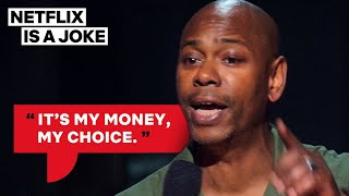 Dave Chappelle's Abortion Stance | Netflix Is A Joke