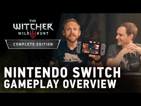 The Witcher 3: Wild Hunt – Complete Edition | Nintendo Switch Gameplay Overview thumbnail